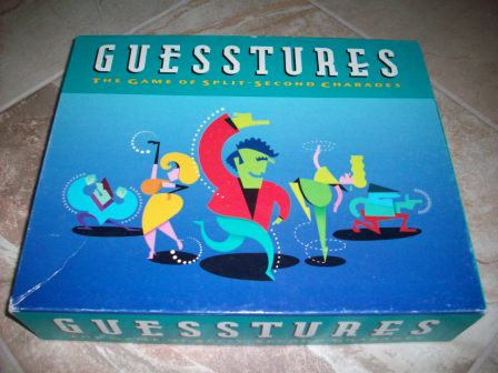 Guesstures (1990) - Board Game
