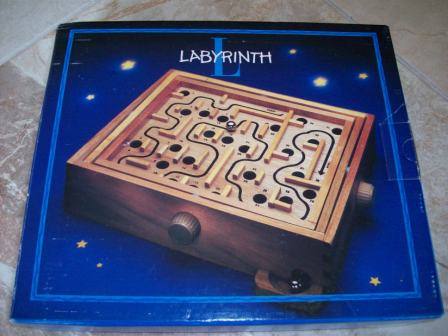 Labyrinth Solid Wood Maze (CIB) - Board Game