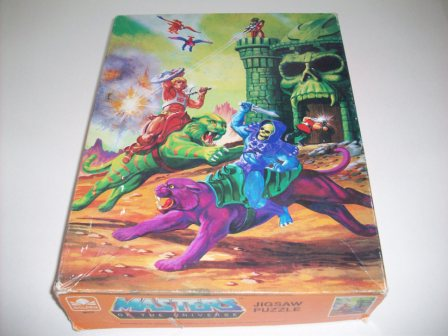 "Masters of the Universe ""Eternian Battlefield"" Puzzle"