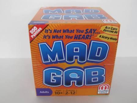 Mad Gab (2011) (CIB) - Board Game
