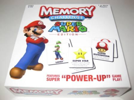 Memory Challenge Super Mario Edition - Board Game