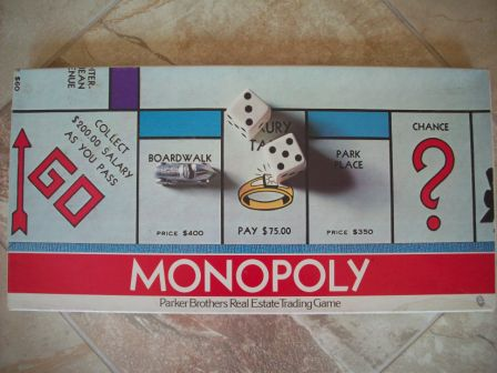 Monopoly (1974) - Board Game