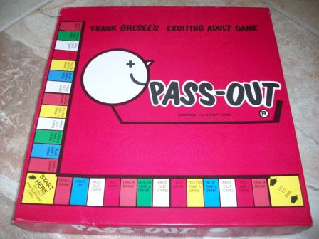 Pass-Out - Exciting Adult Game (2005) - Board Game