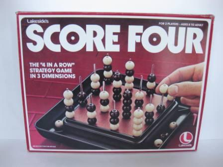 Score Four (1978) - Board Game