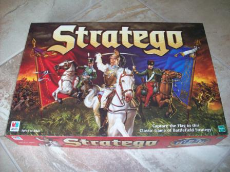 Stratego (1999) - Board Game
