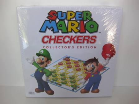 Super Mario Checkers (2012) (SEALED) - Board Game