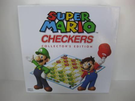 Super Mario Checkers Collector's Edition (2012) - Board Game