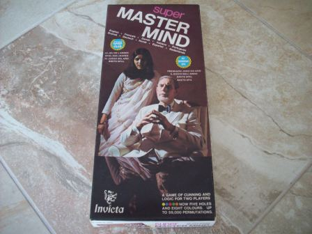Super Master Mind (1975) (CIB) - Board Game