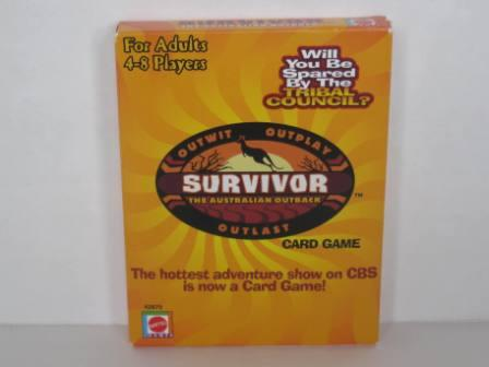 Survivor The Australian Outback Card Game (2000) (CIB)