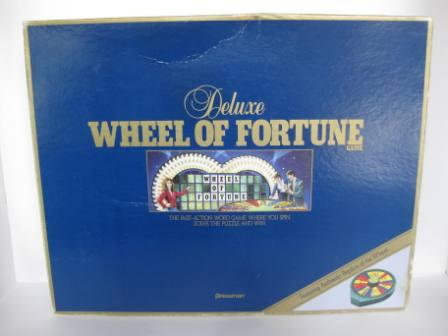 Wheel of Fortune (1986) (CIB) - Board Game