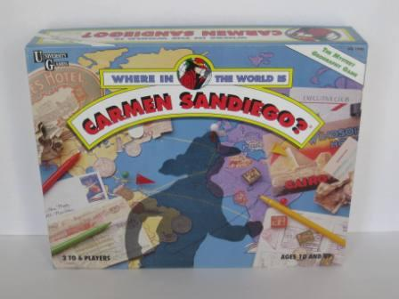 Where in the World is Carmen Sandiego? (1992) - Board Game