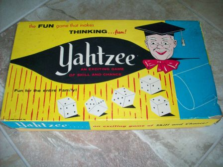 Yahtzee (1961) (CIB) - Board Game