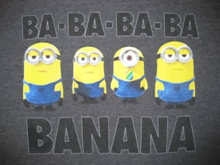 Ba Ba Ba Ba Banana (Grey) - L Shirt
