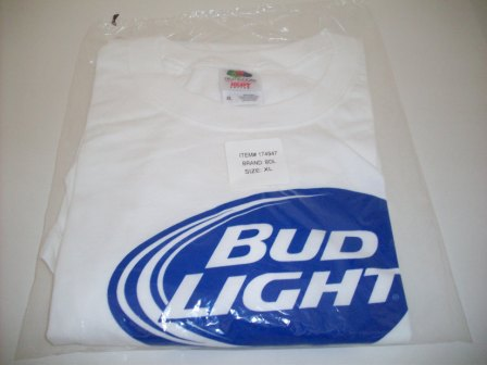 "Bud Light ""Here We Go"" (NEW) - XL Shirt"
