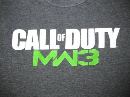 Call of Duty MW3 (Grey) - M Shirt