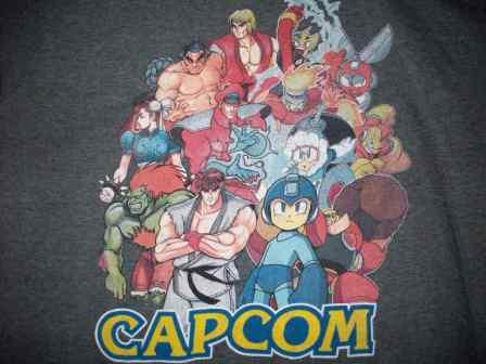 Capcom (Grey) - XL Shirt