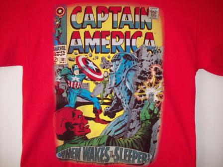 Captain America - When Wakes The Sleeper! - L Shirt