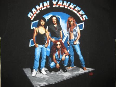 Damn Yankees (World Tour 1993) - XL Shirt