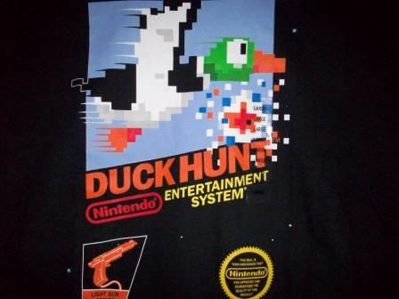 Duck Hunt (Black) - L Shirt