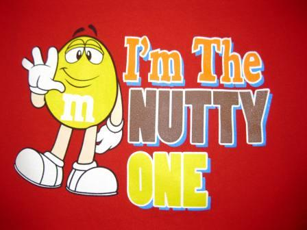 M&M's I'm the Nutty One (Red) - XL Shirt