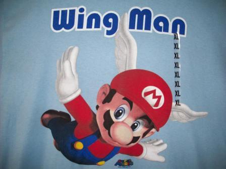 "Mario ""Wing Man"" - XL Shirt"
