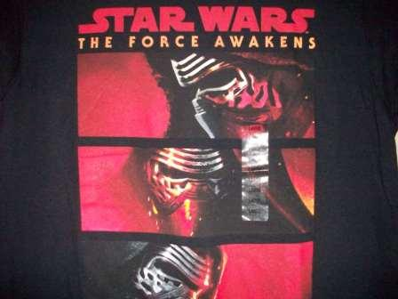 Star Wars - The Force Awakens (Black) - L Shirt