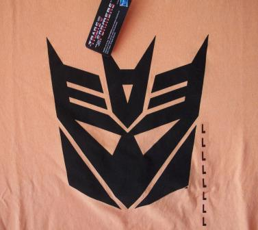 Transformers Decepticons Logo (Orange) - L Shirt
