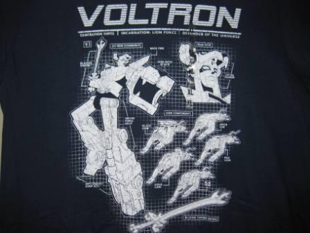 Voltron - (Dark Blue) - XL Shirt