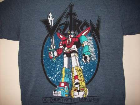 Voltron - Defender of the Universe (Blue) - L Shirt