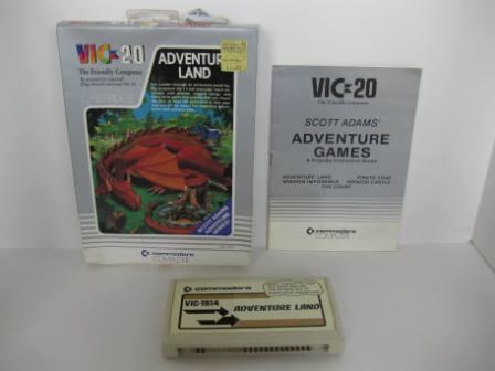 VIC-1914 Adventure Land (CIB) - Vic-20 Game