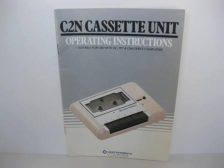 C2N Cassette Unit Operating Instructions - Vic-20 Manual