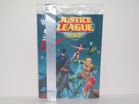 Justice League Comic (4 of 4) - Breakout (SEALED)