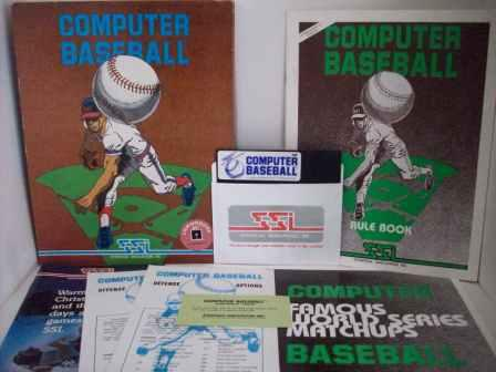 Computer Baseball (CIB) - Commodore 64 Game