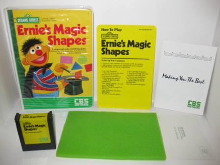 Ernies Magic Shapes (CIB) - Commodore 64 Game
