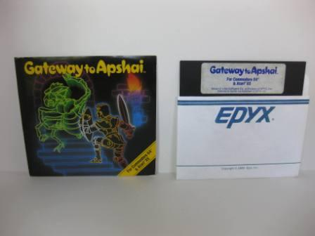 Gateway to Apshai w/ Manual (Floppy Disk) - Commodore 64 Game