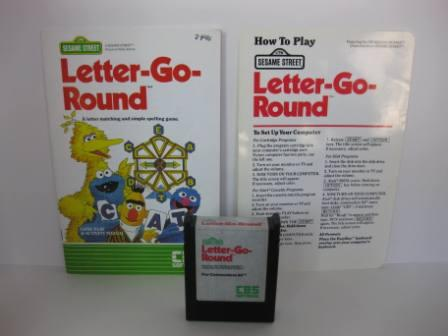 Letter-Go-Round (w/ Manual) - Commodore 64 Game