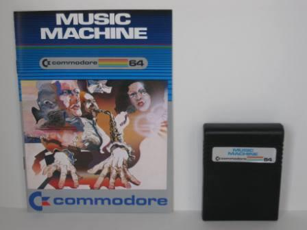 Music Machine w/ Manual (No Box) - Commodore 64 Game