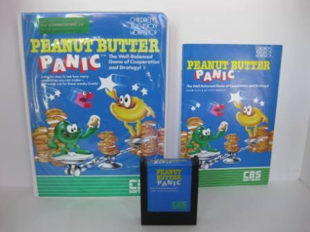 Peanut Butter Panic (CIB) - Commodore 64 Game
