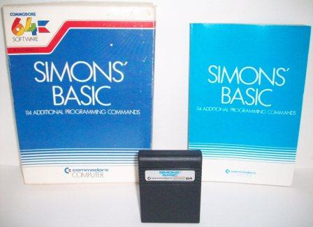 Simons Basic (CIB) - Commodore 64 Game