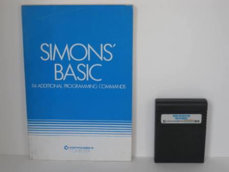 Simons Basic w/ Manual (No Box) - Commodore 64 Game
