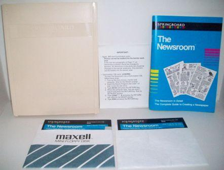 The Newsroom (CIB) - Commodore 64/128 Game