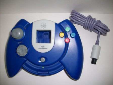 Dreamcast 3rd Party Controller (Blue) - Dreamcast Accessory