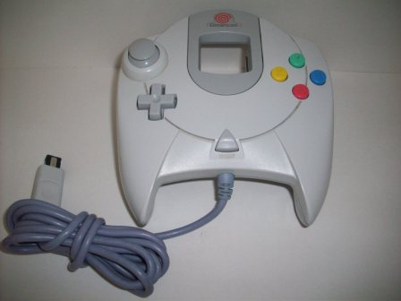 Dreamcast Controller (White) - Dreamcast Accessory