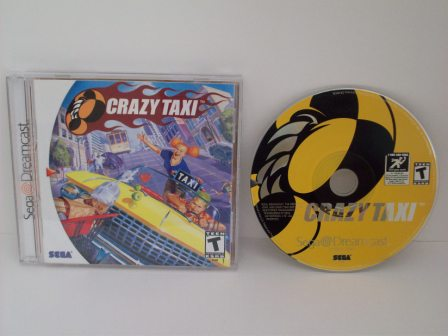 Crazy Taxi - Dreamcast Game