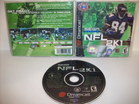 NFL 2K1 - Dreamcast Game