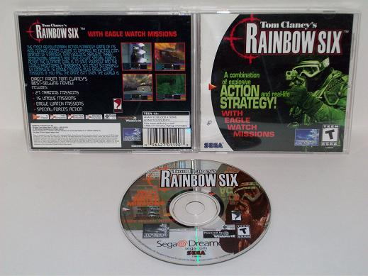 Tom Clancys Rainbow Six - Dreamcast Game