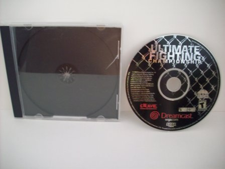 UFC: Ultimate Fighting Championship - Dreamcast Game