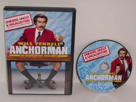 Anchorman: The Legend of Ron Burgundy - DVD