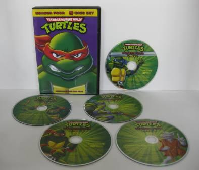 Teenage Mutant Ninja Turtles - Season 4 - DVD