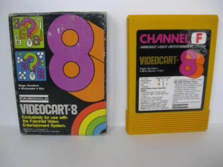 Videocart-8 (Boxed - no manual) Mindreader/Nim - Fairchild Game